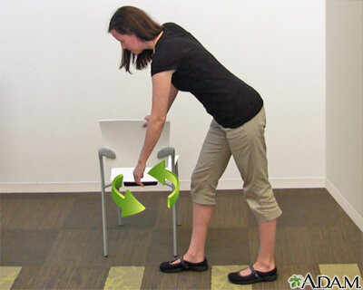 - Pendulum Exercises are a great start and can be easily done at home.